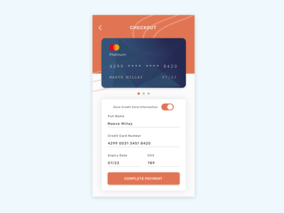 .002 Credit Card Checkout