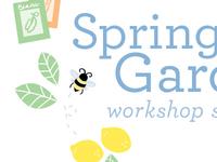 Spring Garden Workshop Art