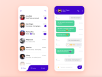 Chat App Screens