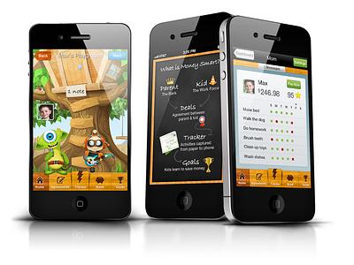 Kids Money App ios mobile app ios app mobile app iphone app kids fun