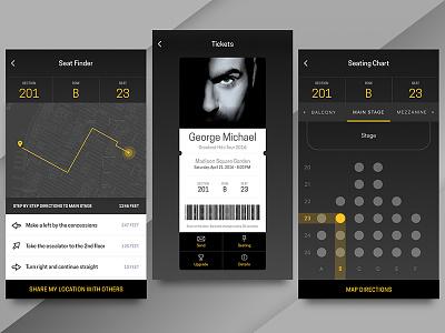GM Ticket App