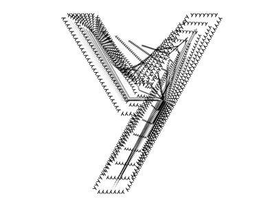 Y typography recursive test y font schrift typografie