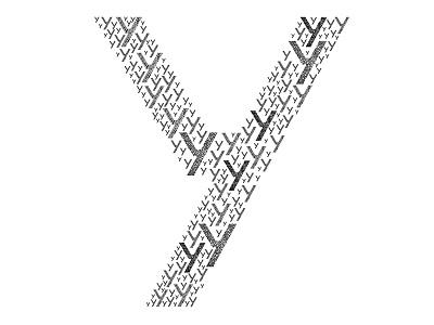 Y2 font recursive typography test schrift typografie y