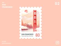 Stamp San Francisco