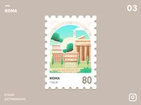 Stamp Roma