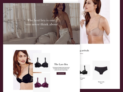 Curate – Luxe Preset web design luxury luxe ui e-commerce clean simple ecommerce