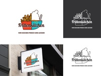 Logo concept for a restaurant