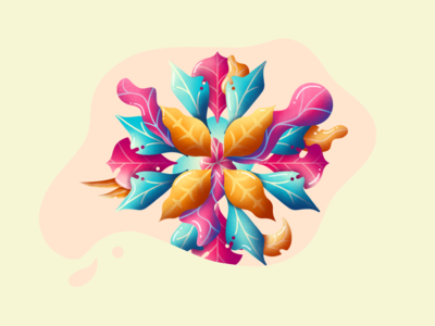 Flowers with Procreate