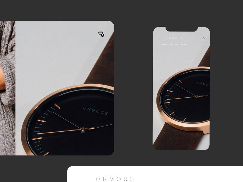 Online store concept design ux ui arto site web