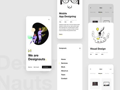 Design Agency - Responsive Design clean ui landing page design agency responsive responsive website design responsive web design responsive website responsive design mobile design mobile app product page mobile ui mobile illustration mobile app design brand design product design branding uxdesign uidesign