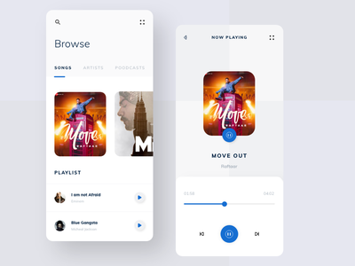 Music Player UI album cover art album covers prototype product design product now playing artist artists playlist player music music art music player music app mobile app design mobile design mobile app mobile ui uxdesign uidesign