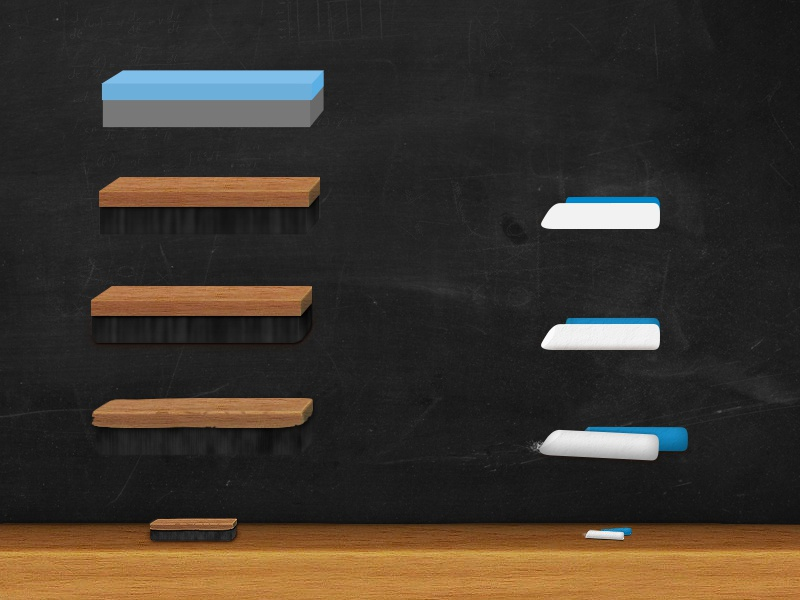 Chalkboard  chalkboard eraser black texture chalk wood photoshop game blue