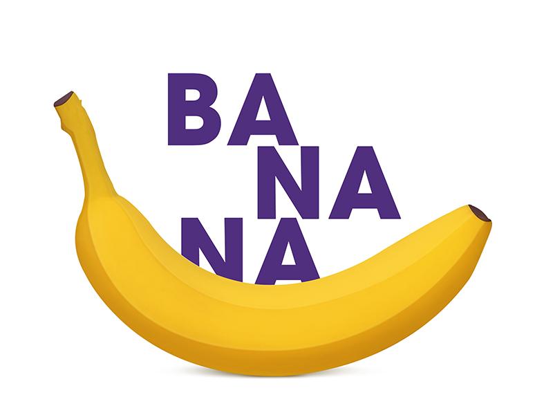 Banana yellow food banana photoshop illustrations