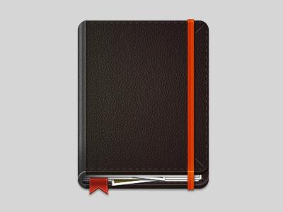 Claudio Guglieri Icon book icon guglieri moleskine notebook black colombia