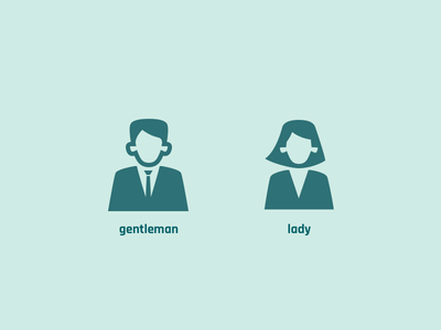 People : Gentleman and Lady human person male female gentleman lady woman man