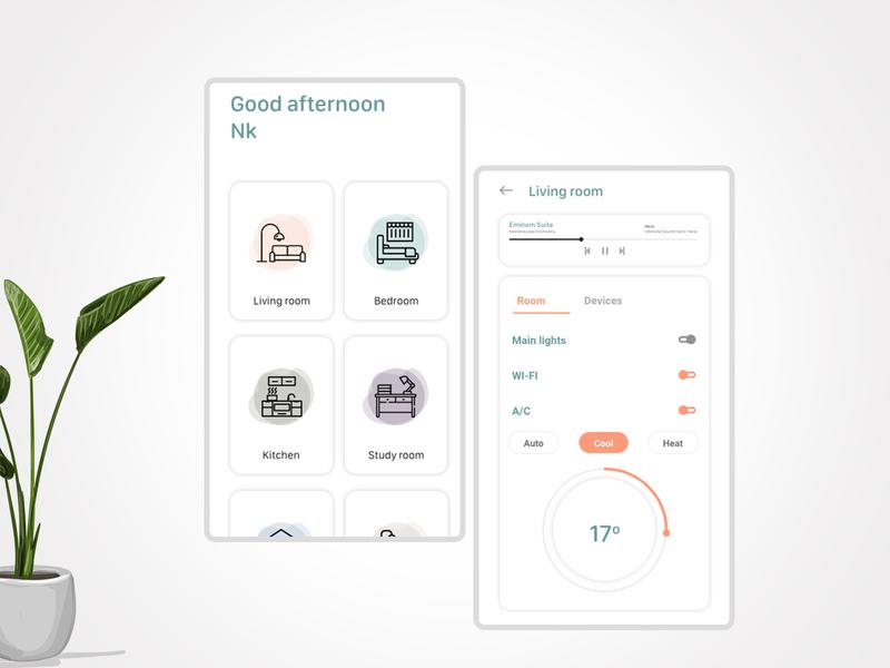 Daily ui - 021 Home monitoring dashboard ui app home monitoring dashboard 021 daily ui
