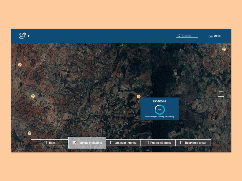 Daily UI - 029 Map earth observation satellite image map 029 ui @dailyui