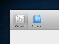 2x Preference Icons