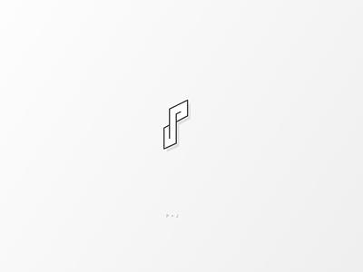 Daily Logo #8 | PJ illustrator illustration vector logo icon design branding