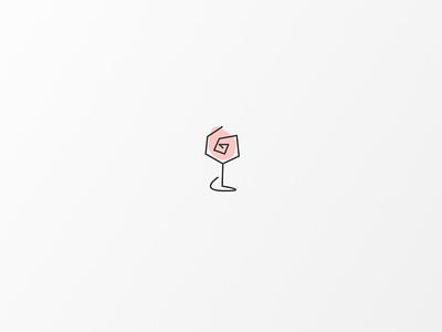 Daily Logo #9 | Rose illustrator illustration vector logo icon design branding