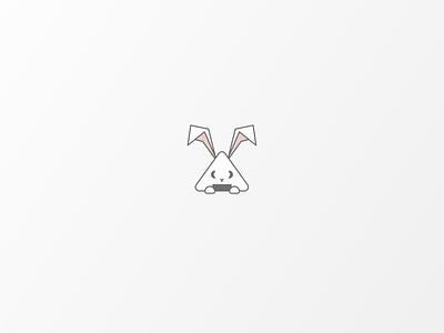 Daily Logo #16 | Japanese Onigiri Bunny onigiri bunny illustrator illustration vector logo icon design branding