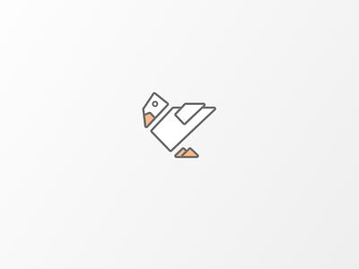 Daily Logo #17 | Duck duck illustrator illustration vector logo icon design branding