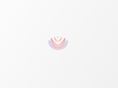 Daily Logo #5 | Lotus / Candle / Flame vector logo icon design branding