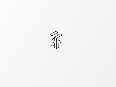 Daily Logo #7 | HP vector logo icon design branding