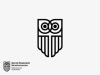 Owl. Sign for legal organization