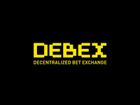 Debex. Decentralised bet exchange. Logo