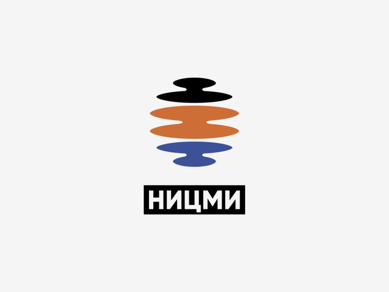 Scientific research center of multilevel measurements. Logo logo sign minimal design microwave measurement oil factory abstract