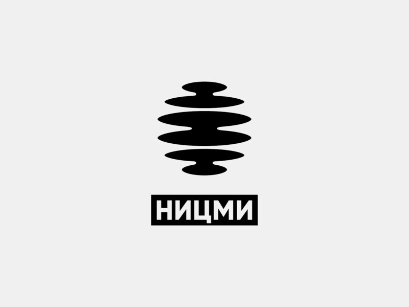 Scientific research center of multilevel measurements. Logo abstract oil factory measurement microwave design minimal sign logo