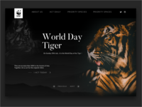 WWF : World Day Tiger