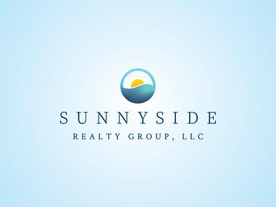 Sunnyside Realty Group Logo mesh gradient vector fibonacci design branding brand identity logo