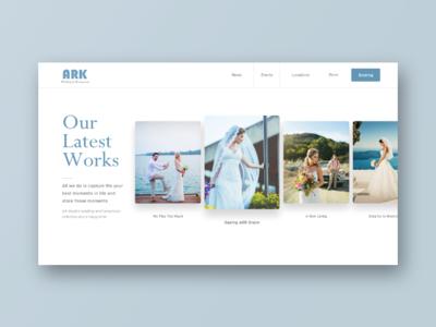 Ark Weddings and Honeymoon Portfolio Page