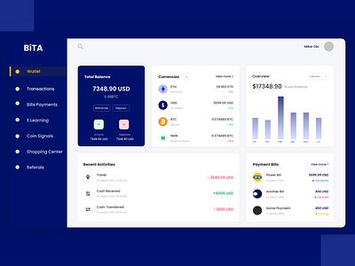 Wallet wallet app wallet finance web design uiux adobe xd design ui