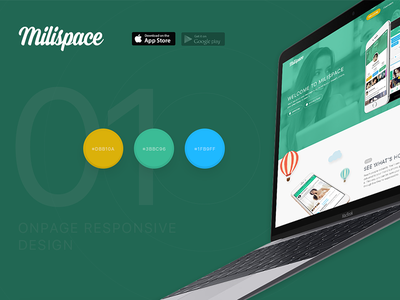 Milispace Application viet nam vietnam matarial dating app flat design ui design milispace