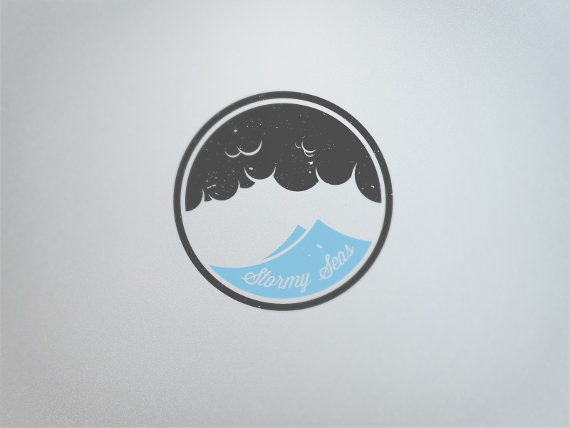 Stormy Seas logo branding illustrator photoshop