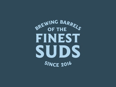Suds brewery beer suds vector badge