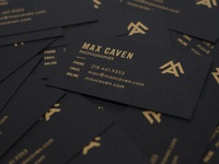 Max Caven Business Cards