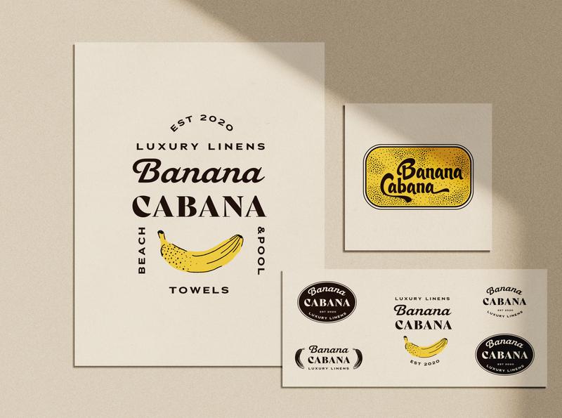 Banana Cabana Branding