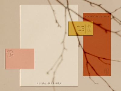 Kendra Lebo Design Letterhead