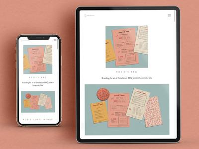 Kendra Lebo Design Website