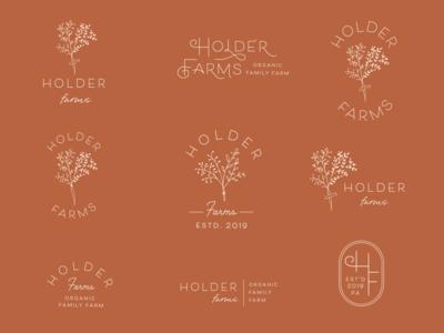 Holder Farms: Logo Process