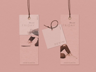 Hang Tag Design for The New Friday