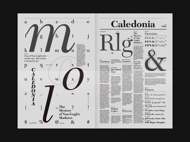 Specimen Design, Caledonia