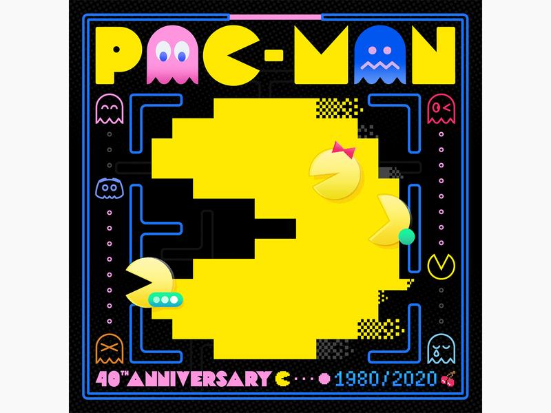 PAC-MAN 40th Anniversary discord anniversay pac-man
