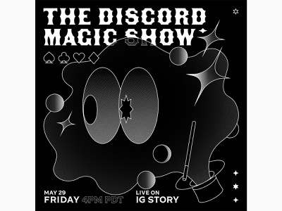 The Discord Magic Show eye hat discord magic show magic