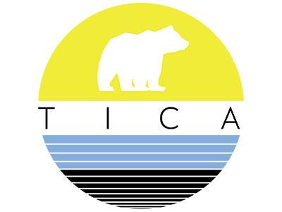 TICA Logo blue black yellow tica