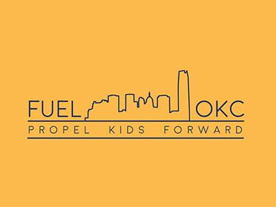 Fuel OKC education oklahoma print print design branding logo